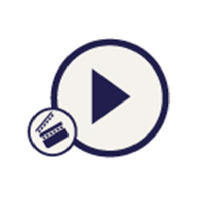 Icono de un video